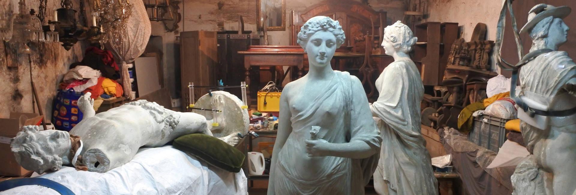 Conservation Restauration de sculptures en plâtre